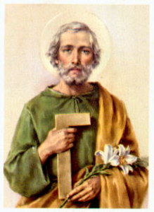 painting of St. Joseph the Worker