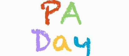 PA Day- Monday, September 26th, 2016